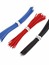 24AWG Red Connector Wire with 10CM (30PCS)