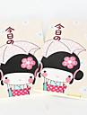 Kimono caderno Menina capa macia