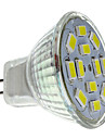 2w gu4 (mr11) levou spotlight mr11 12 smd 5730 240-260lm branco natural 6000k dc 12v 1pc