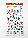 Cartoon Panda Series Bubble Sticker
