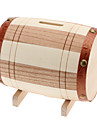 Wooden Cask Style Coin Saving Bank