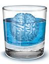 Tricksy Brain Shaped Ice Tray Mold (Random Color)