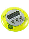 Round Magnetic LCD Digital Kitchen Timer Countdown Alarm with Stand