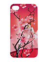 Peach Blossom Pattern Protective Hard Case for iPhone 4/4S