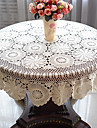 100% Coton Rond Nappes de table Fleur Decorations de table