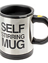Automatic Coffee Mixing Cup / Mug Drinkware Stainless Steel Coffee Cup Self Stirring Electric Mug Button