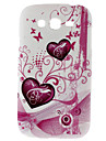 Double Heart Pattern Hard Case for Samsung Galaxy Grand DUOS I9082