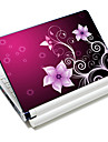 """""""Petunia Flowers"""" Pattern  Laptop Notebook Cover Protective Skin Sticker For 10""""/15"""" Laptop 18614"""