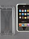 Transparente Cristal de proteção Hard Case plástico para iPod Touch 4