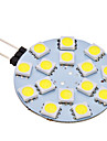 2W G4 LED à Double Broches 15 SMD 5050 150 lm Blanc Naturel AC 12 V