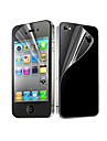 6X Clear Front and Back Screen Protector for iPhone 4/4S iPhone 4s / 4 Screen Protectors