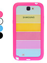 Rainbow Back Case for Samsung Galaxy Note 2 N7100 (Assorted Colors)