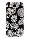 Изысканный цветочный узор мягкий чехол для Samsung Galaxy i9500 S4