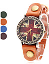 Women's the Union Jack Style Leather Analog Quartz Wrist Watch (Assorted Colors) Cool Watches Unique Watches