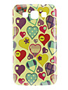 Heart Pattern Hard Case for Samsung Galaxy Win I8552 Galaxy J Series Cases / Covers