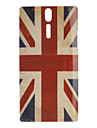 Retro Style UK Flag Pattern Hard Case for Sony Xperia S LT26i