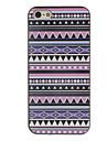 фиолетовые тона цветной рисунок узором черной рамке PC жесткий футляр для iphone 5/5s