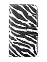 Zebra-полосой шаблон Полный Дело орган для iPhone 4/4S