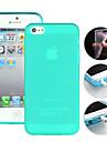 Capa Protetora em TPU com Cores Doces para iPhone5/5S (Cores Diversas)