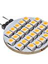 SENCART 3000 lm G4 LED Bi-pin 조명 25 LED가 따뜻한 화이트 DC 12