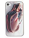 Élégant Parfait Courber la caisse dure de PC de modèle de Roadster pour iPhone 4/4S