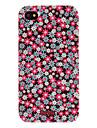 아이폰 4 / 4s 아이폰 케이스에 대 한 아름 다운 꽃 패턴 하드 케이스
