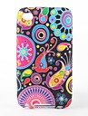 Colorful Flower Ribbon Pattern TPU Case for iPod Touch 4 (Multi-Color)