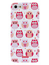 For iPhone 5 Case Frosted Case Back Cover Case Owl Hard PC iPhone SE/5s/5