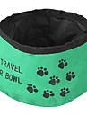 Cat Dog Bowls & Water Bottles Pet Bowls & Feeding Foldable Red Green Blue