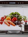 Alta qualidade Cozinha Autocolantes a prova de oleo,Aluminio
