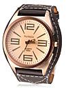 Men's Watch Dress Watch Big Tawny Dial Cool Wrist Watch Unique Watch Fashion Watch