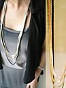 Couches couleur mélangée collier
