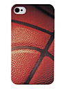 Basketball Surface Pattern Back Case for iPhone 4/4S
