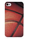iPhone 4/4S를위한 농구 표면 패턴 뒤 케이스
