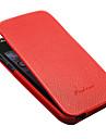 luxo genuíno couro flip caso de corpo inteiro para iphone 5/5s/5g (cores sortidas)
