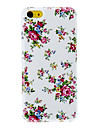 Elegant Peony Pattern Hard Case for iPhone 5C