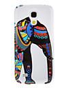 Слон шаблон Защитные Жесткий задняя обложка чехол для Samsung Galaxy I9190 Мини S4