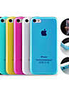 Solid Color TPU Soft Back Case for iPhone 5C(Assorted Color)