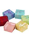 Doux multicolore Jewelry Box Papier Pour Ring (rose, rouge, bleu et plus) (1 pc)