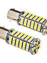 SO.K 2pcs BA15S (1156) / 1156 Carro Lampadas SMD 3528 420-450 lm Luz traseira For Universal