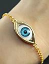 Or alliage de chaîne et de lien Bracelet (d'or) de mode 7cm femmes (1 PC)