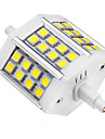 R7S LED 스팟 조명 24 LED가 SMD 5050 차가운 화이트 440lm 6000-6500K AC 85-265V