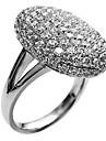 Массивные кольца бижутерия Сплав Круглой формы Бижутерия Назначение Свадьба Для вечеринок