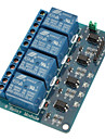 4 CH Relay Module with Optocoupler 5V for PIC AVR DSP ARM for Arduino
