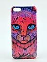 Cartoon Animal Face Pattern Plastic Back Case for iPhone 5C