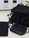 25pcs 5x7cm Бархатный шнурок органзы сумка
