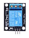 (Na Arduino) 5V Moduł przekaźnikowy do sterowania rozwój SCM / domu urządzenia - czarny + niebieski