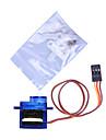 Mini 9G Servo with Accessories - Translucent Blue