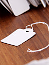 500pcs 26x15mm Paper Label Tie String Price Tag