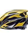 MOON BIke Helmet Cycling Yellow+Black PC+EPS 25 Vents MTB Protective Helmet